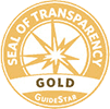 Guidestar Gold Seal of Transparency for Charity Organizations Small