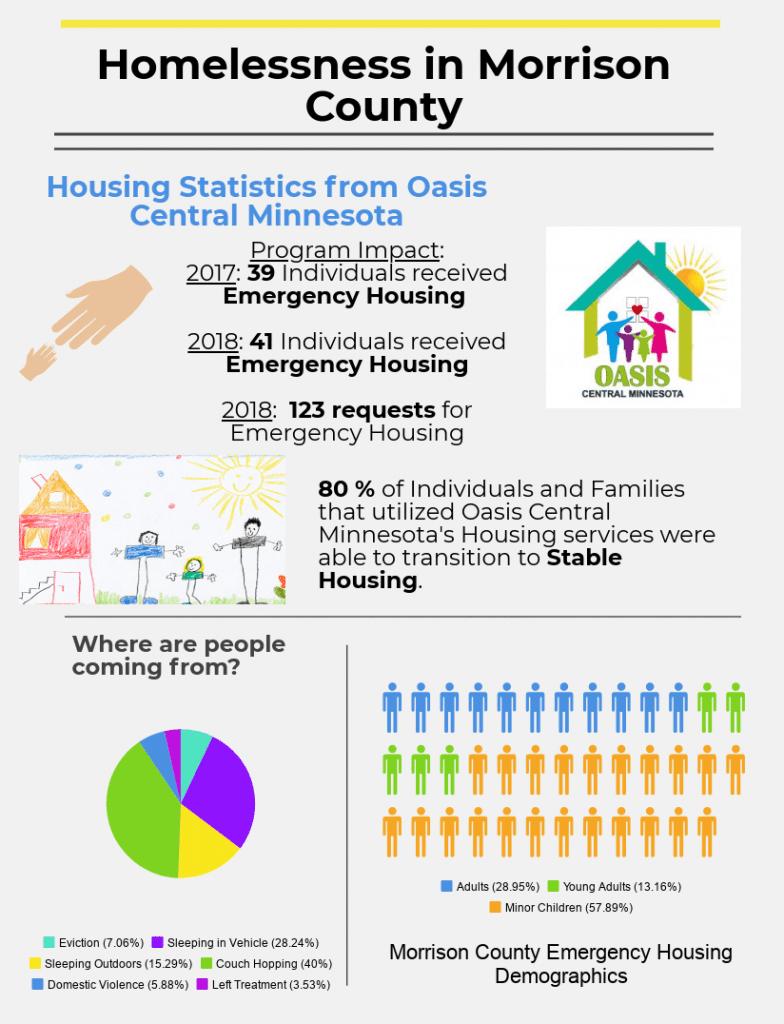 Morrison County Minnesota Housing Infographic