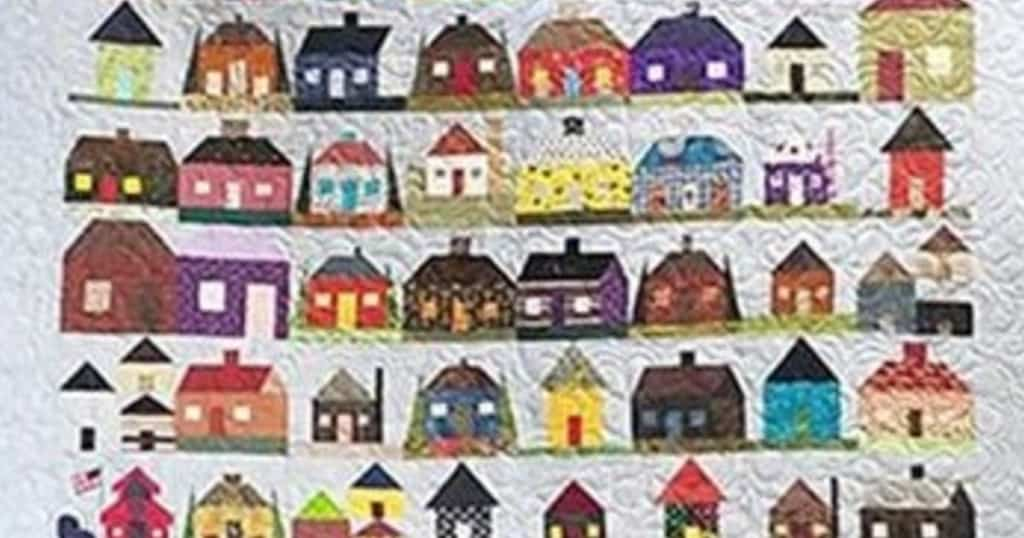 Homes for the Homeless Quilt - Cropped